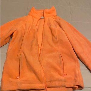 Coral full zip jacket
